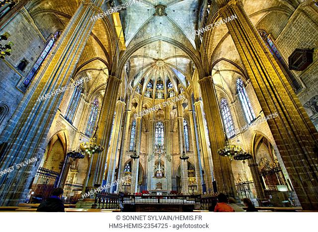 Spain, Catalonia, Barcelona, Barcelona's Cathedral