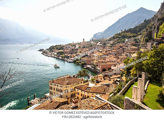 Limone sul Garda, Province of Brescia, Lombardy, Italy