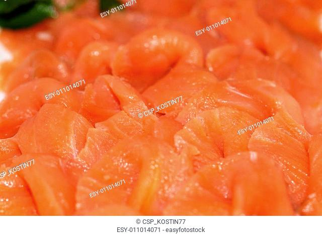 Red fish trout