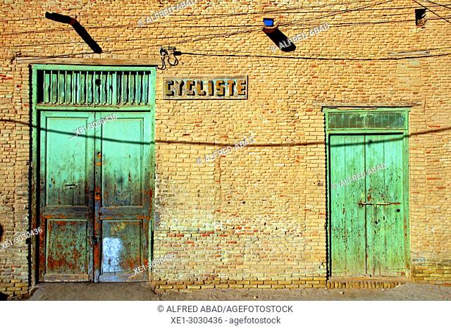door, Nefta, Tunisia