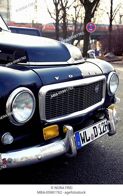 Car, classic car, nostalgia, Hamburg