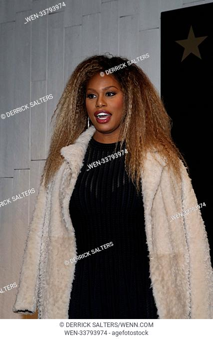 Black History Month event with Laverne Cox at Macy's Herald Square Featuring: Laverne Cox Where: Newark, New Jersey, United States When: 22 Feb 2018 Credit:...