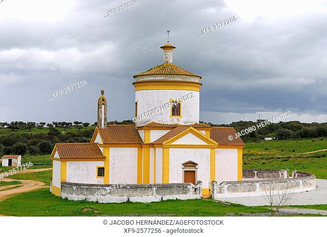 Church of Calvario.Monforte.Alentejo.Portugal