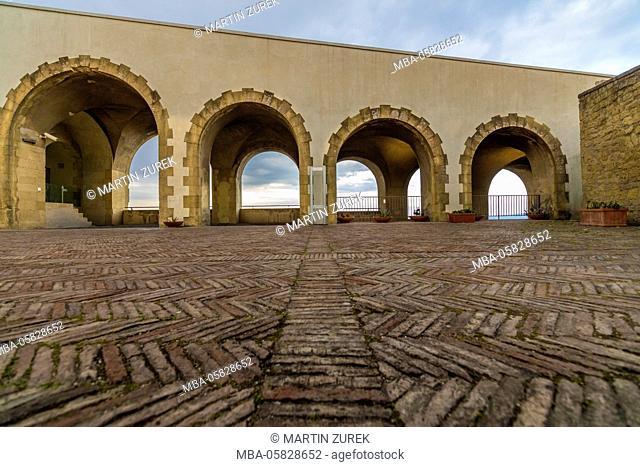 Castel San Martino, castle, Castel, Italy, Kampanien, Naples