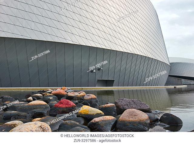 National Aquarium Denmark (Deb Bla Planet), Kastrup, Copenhagen, Denmark, Scandinavia. Opened in 2013 and is the largest aquarium in northern Europe