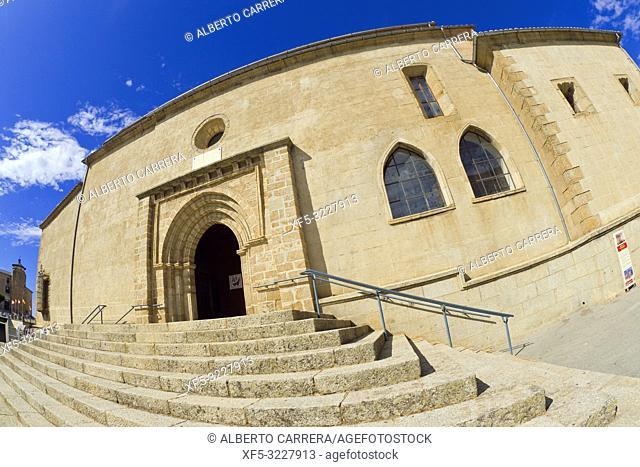Church of El Salvador, Main Square of Maldonado, Old Town, Béjar, Salamanca, Castilla y León, Spain, Europe