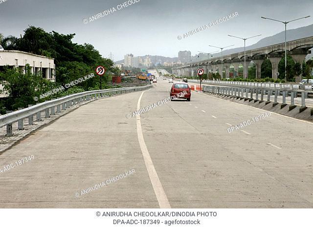 Eastern Freeway road Wadala Mumbai Maharashtra India Asia