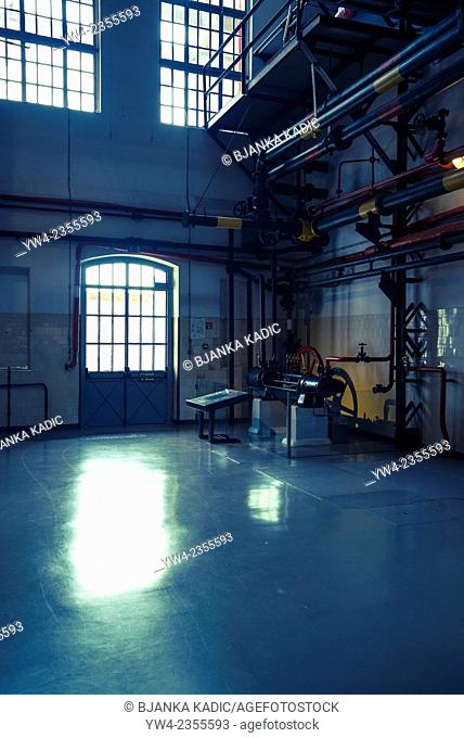 Electricity Museum, Condenser room, Lisbon, Portugal