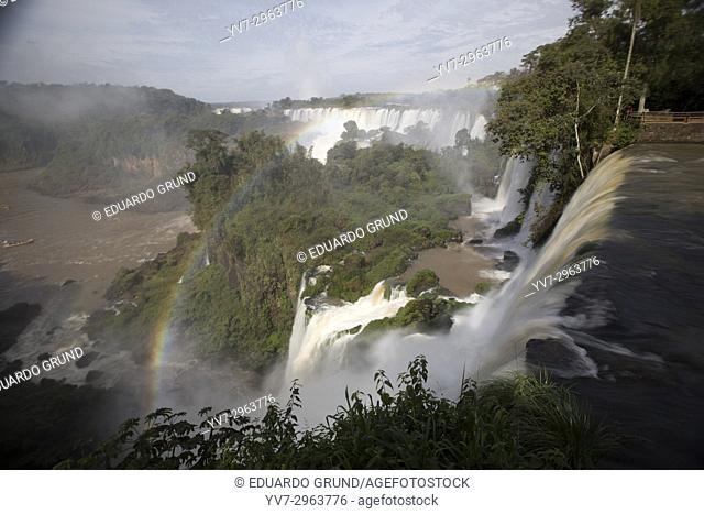 Iguazú Waterfalls- Iguazú National Park and Reserve - Iguazú Falls. Argentina