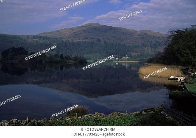 england lake district grasmere landscape view