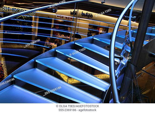 El Mercat, commercial centre at Glories. Barcelona, Catalonia, Spain