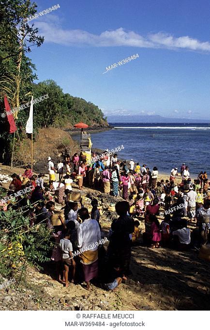 odalan ceremony, bali, indonesia