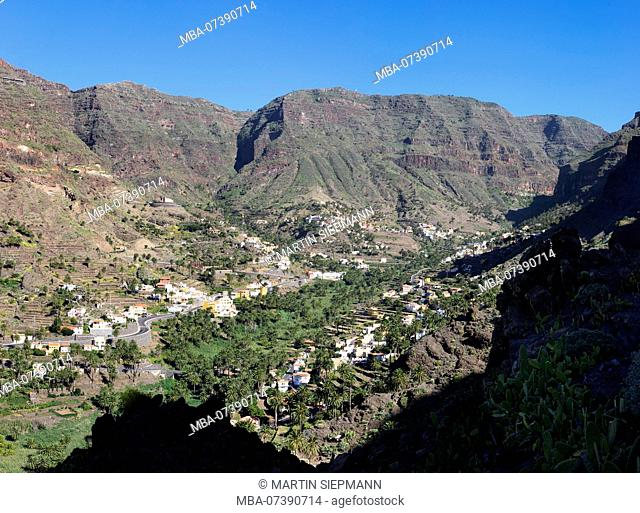Valle Gran Rey, La Gomera, Canary Islands, Canary Islands, Spain