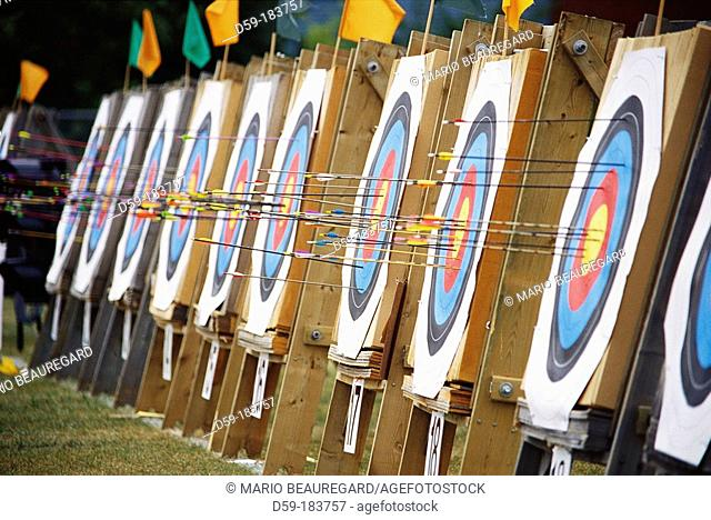 Row or archery targets