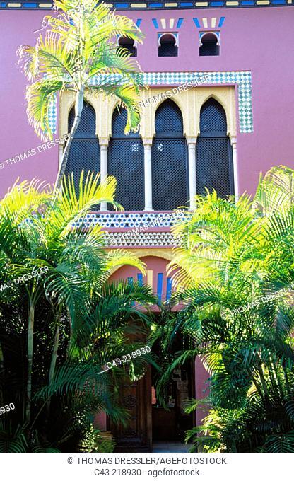 Almuñécar Tourist Office (Moorish style). Granada province. Andalusia. Spain