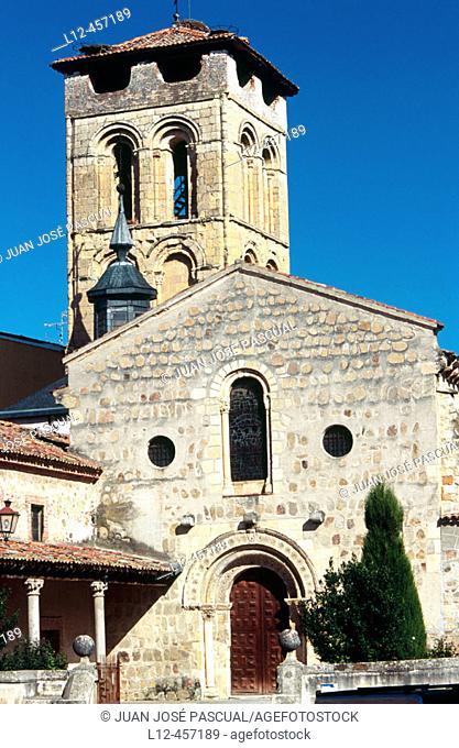 Romanesque church of San Justo, Segovia. Castilla-León, Spain