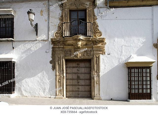 Manor house, Osuna. Sevilla province, Andalucia, Spain