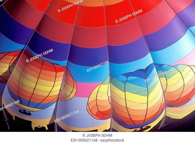 The Albuquerque International Balloon Fiesta in New Mexico
