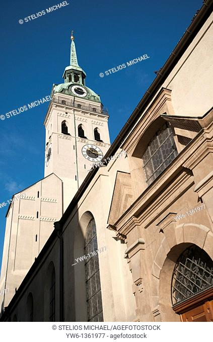 Peterskirche in Munich,Germany