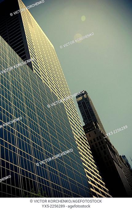 Midtown New York skyscrapers