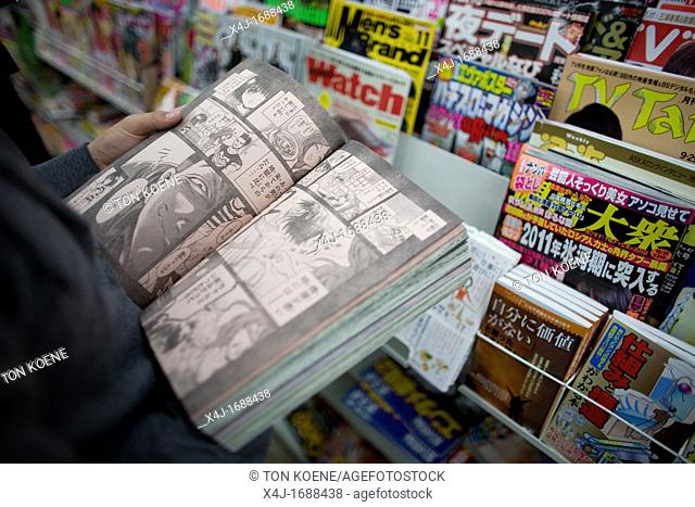 manga is the name of a style of cartoons which is very popular in Japan It is completely acceptable for every age group to read manga books You can see often...