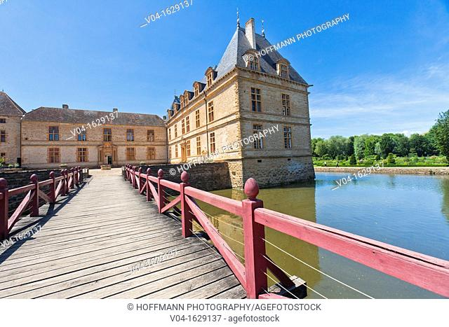 The picturesque castle of Cormatin, Burgundy, France, Europe