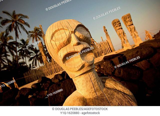 Puuhonua O Honaunau National Historical Park, City of Refuge, Island of Hawaii
