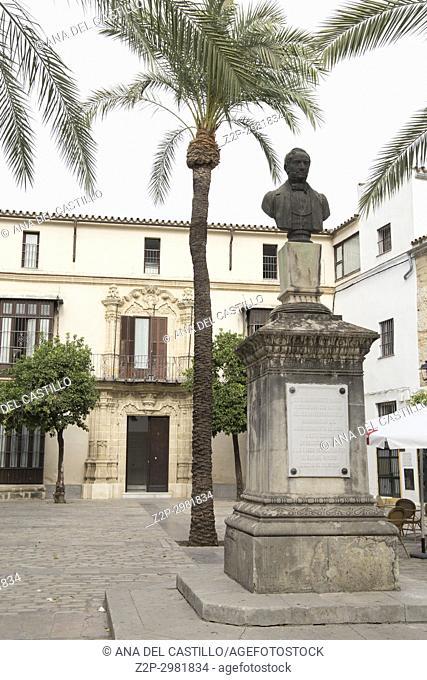 Rafael Rivero square in Jerez de la Frontera Cadiz province , Andalusia, Spain