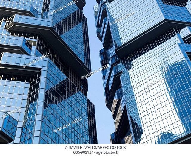 New buildings in Hong Kong, China