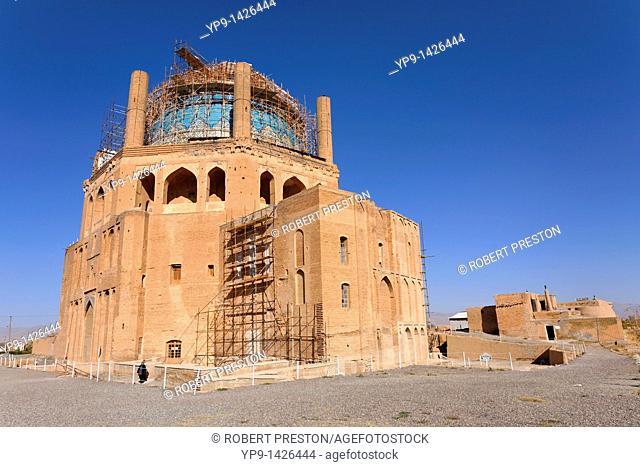 The Mausoleum of Oljeitu at Soltaniyeh, Iran