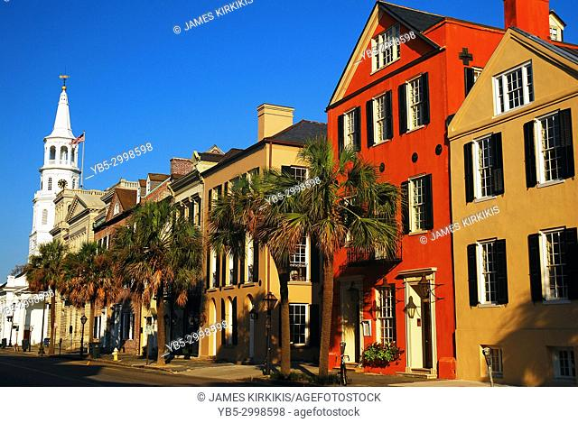 Row Homes near the Four Corners, Charleston South Carolina