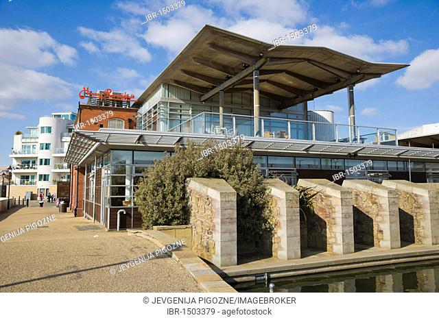 Harry Ramsden's Fish and Chips, Stuart Place, Cardiff Bay, Cardiff, Caerdydd, South Glamorgan, Wales, United Kingdom, Europe