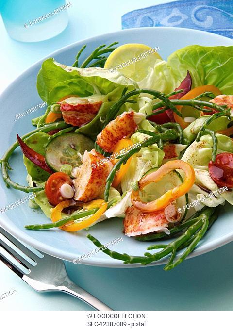 Lobster salad editorial food
