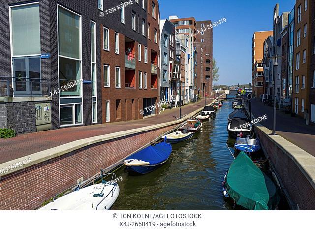 KNSM island in Amsterdam