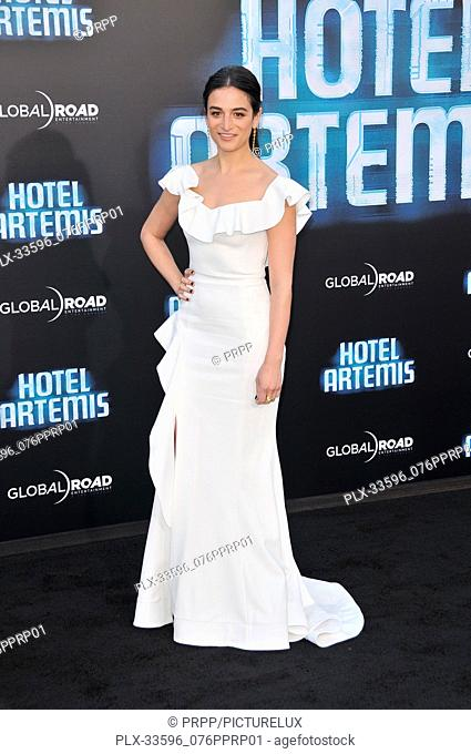 "Jenny Slate at the """"Hotel Artemis"""" Los Angeles Premiere held at the Bruin Theater in Los Angeles, CA on Saturday, May 19, 2018"