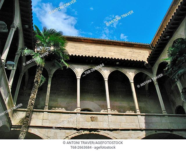Old Hospital of Santa Maria, Lleida, Catalonia, Spain