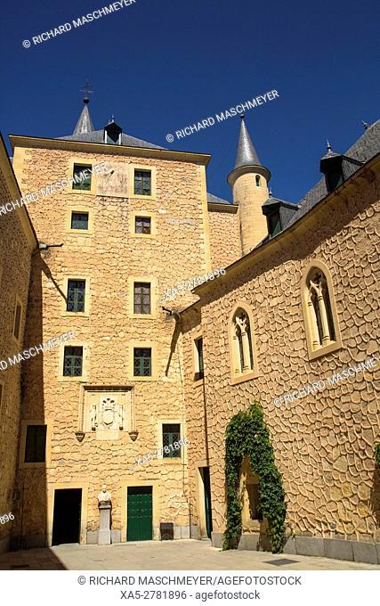 The Ward, Alcazar, Segovia, UNESCO World Heritage Site, Spain