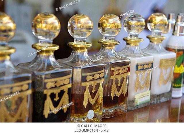 Fragrance from perfume souk, Deira, UAE  United Arab Emirates