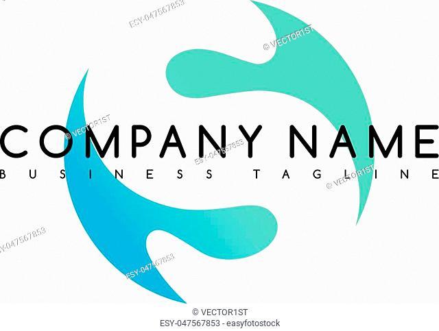 exclusive brand company template logo logotype vector art illustration
