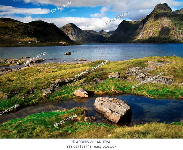 The lofoten is an Archipelago in the northern part of Norway