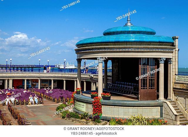 The Bandstand, Eastbourne, Sussex, UK