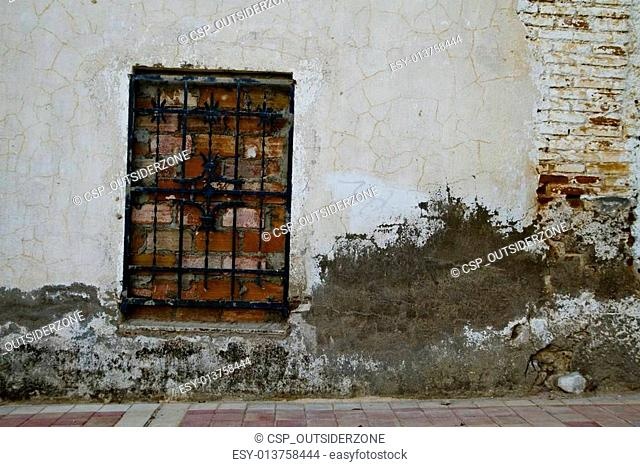 closed home, textures wall
