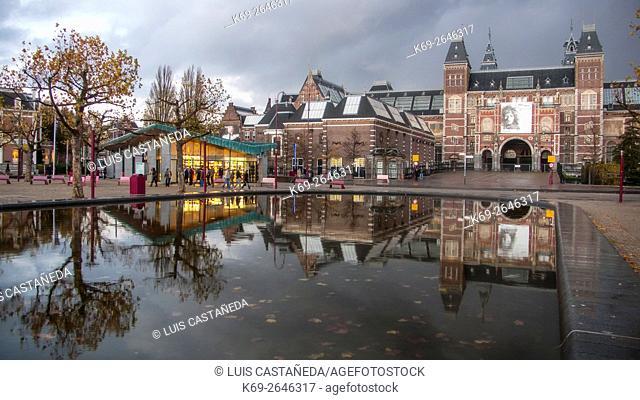 The RijkMuseum. Amsterdam. Netherlands