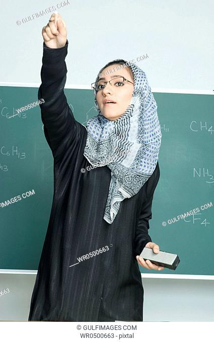 Teacher teaching school