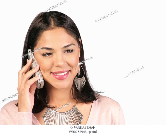 Young Lady on the phone
