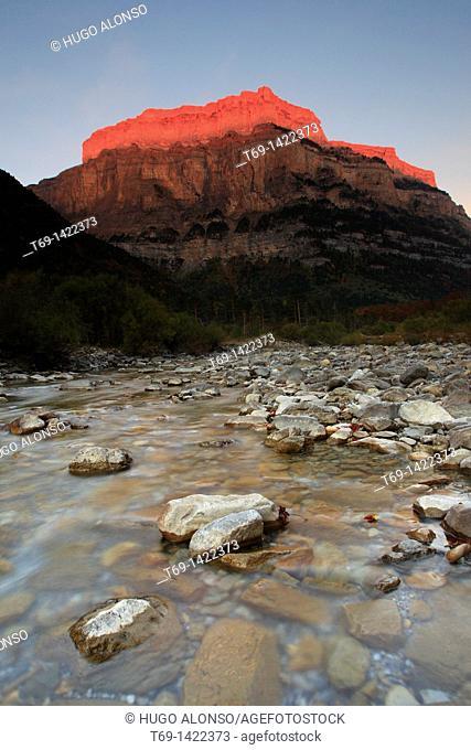 Arazas River Ordesa and Monte Perdido National Park