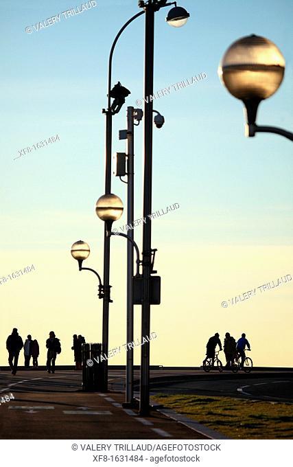 Promenade des Anglais, Nice, Alpes-Maritimes, French Riviera, Provence-Alpes-Côte d'Azur, France