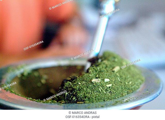 traditional gaucho tea chimarrao drink