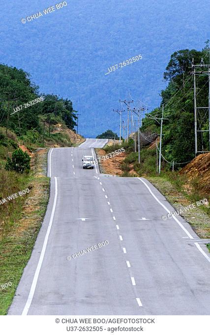 Kuching- Biawak road, Sarawak, Malaysia