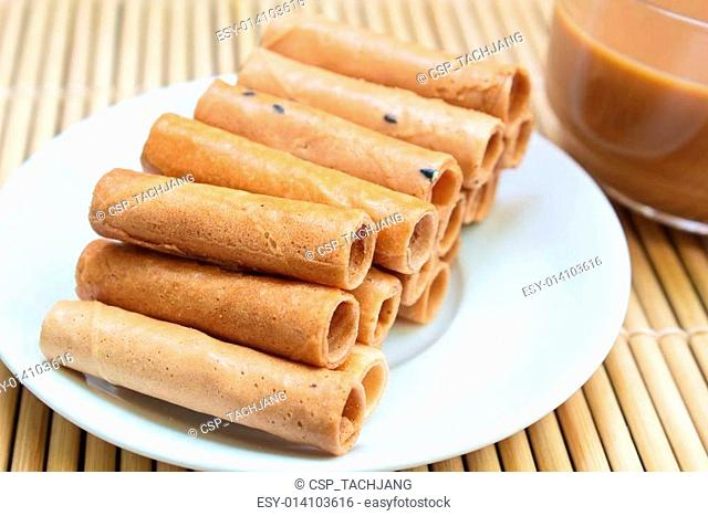 Tong Muan, traditional dessert in Thailand